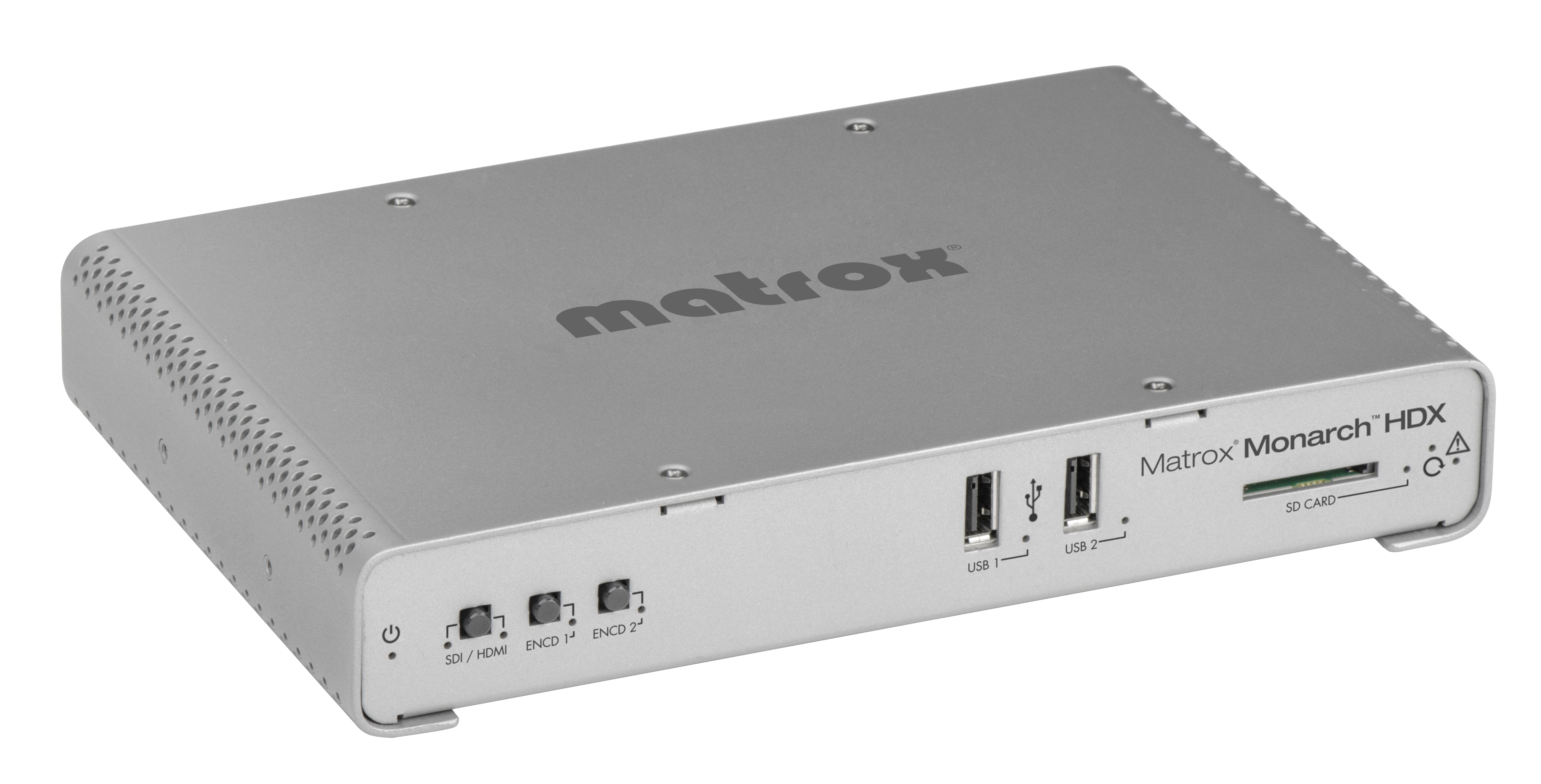 Matrox Monarch HDX推流奥点云使用教程